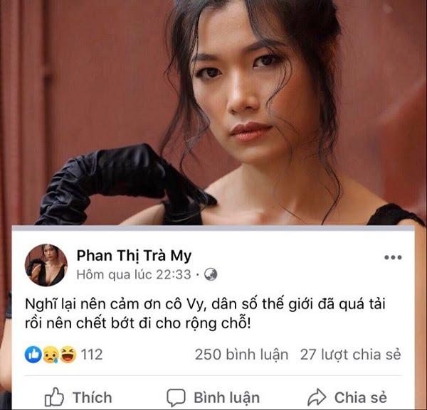 Nữ diễn viên bị chỉ trích vì 'cảm ơn Cô Vy giúp dân số thế giới chết bớt' 1